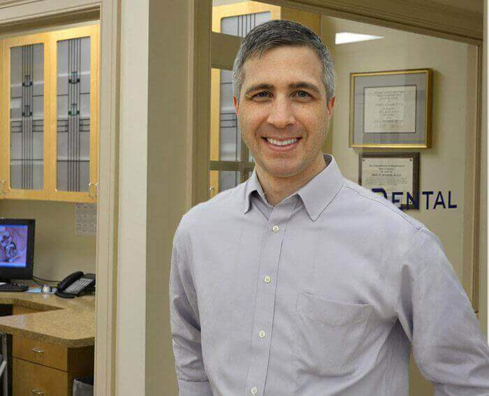 Dr. Michitti smiling in Agawam dental office